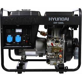 Генератор дизельный Hyundai DHY 5000L (4,6 кВт)