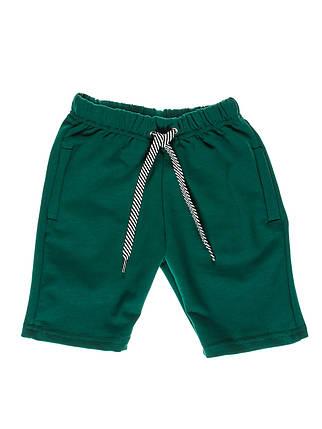 Шорты детские, темно зеленный, фото 2