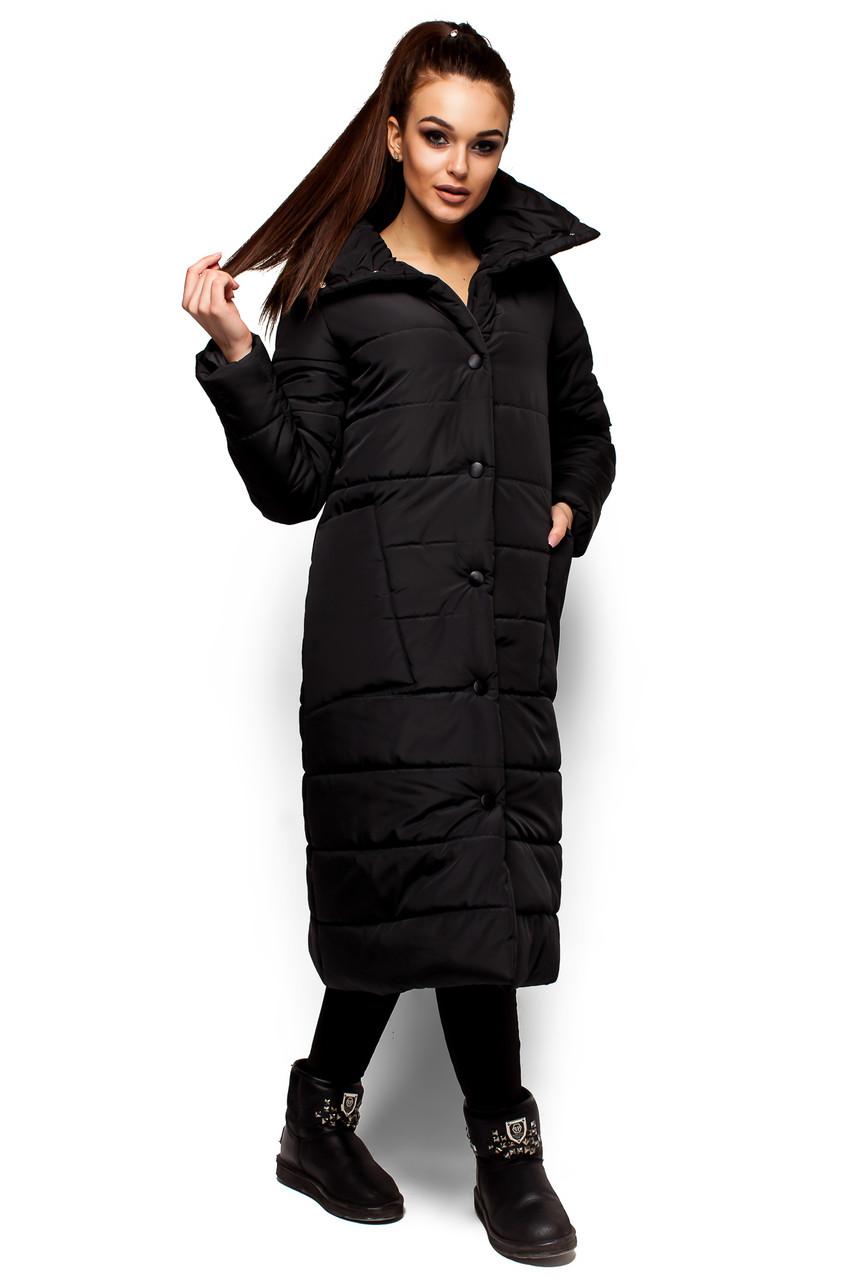 Куртка женская Альма 15258 черная