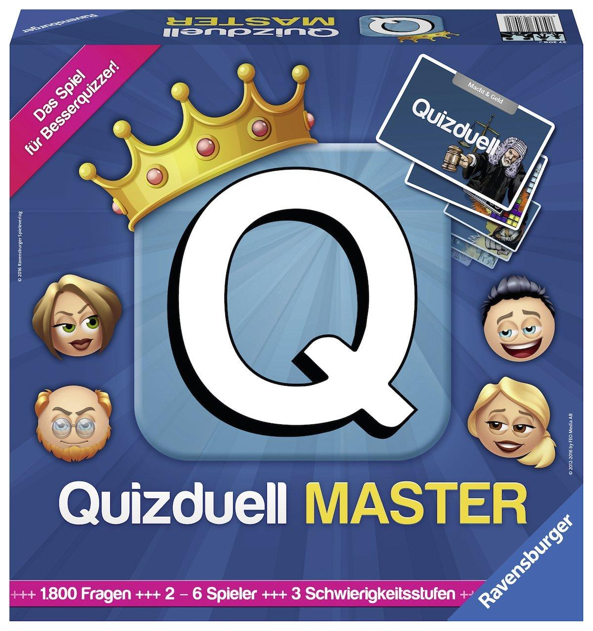Настольная игра Мастер Quizduell - Ravensburger 27208