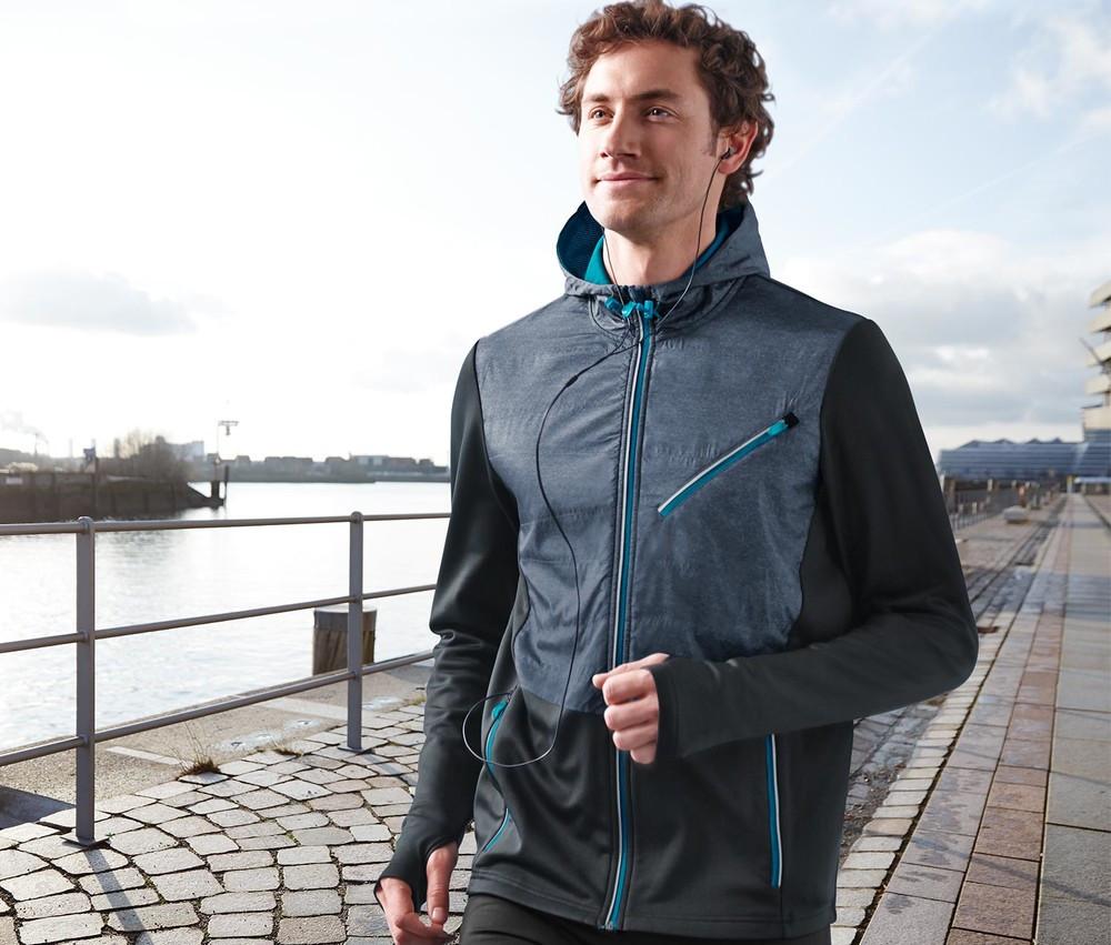 Мужская спортивная термо-куртка с пропиткой ecorepel®от тсм Tchibo (Чибо), Германия, размер М