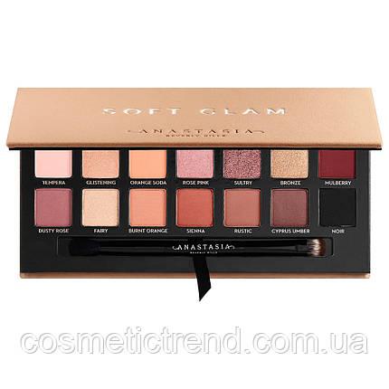 Палетка 14 тіней Anastasia Beverly Hills Soft Glam Eyeshadow Palette, фото 2