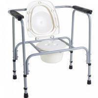Стул туалетный стальной регулируемый НТ-04-002