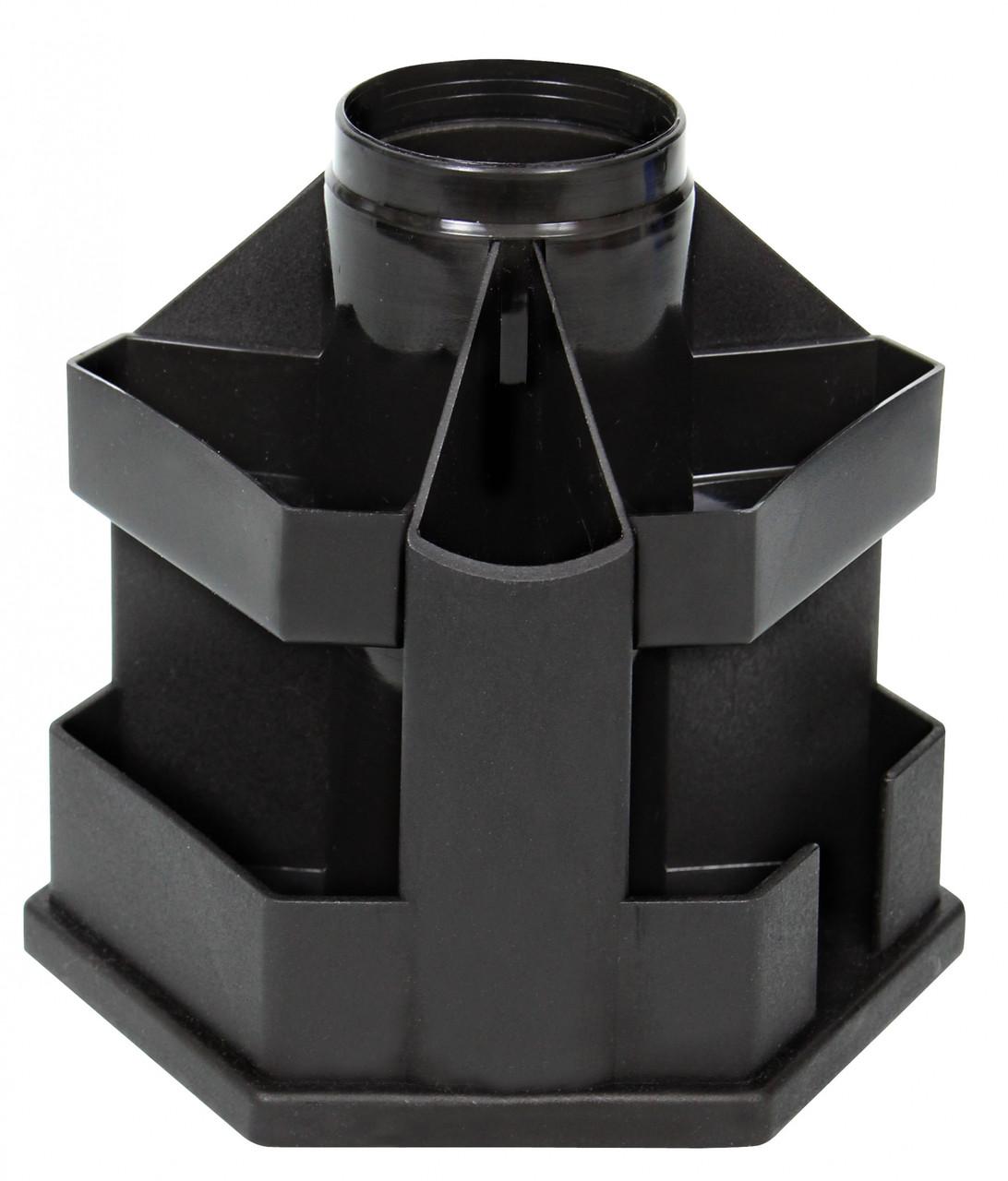 Підставка настільна для канцелярського приладдя B61 чорна