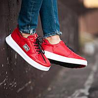 Мужские кроссовки South Freedom red. Натуральная кожа, фото 1