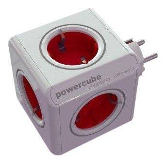 Сетевой адаптер - allocacoc PowerCube Original Rot, фото 2