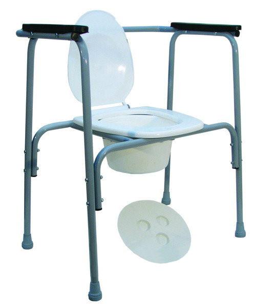 Стілець туалетний сталевий нерегульований (470х710х750) НТ-04-001