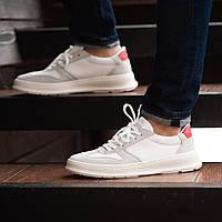 Мужские кроссовки South Draco white. Натуральная замша, фото 1