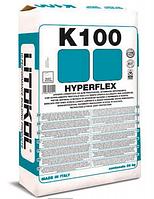 Litokol Hyperflex K100 20 кг однокомпонентный эластичный клей для плитки Cерый