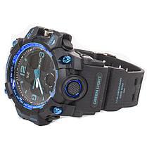 ☀Наручные часы SKMEI 1155B Blue многофункциональные электронные часы влагозащищенный корпус для туристов, фото 3