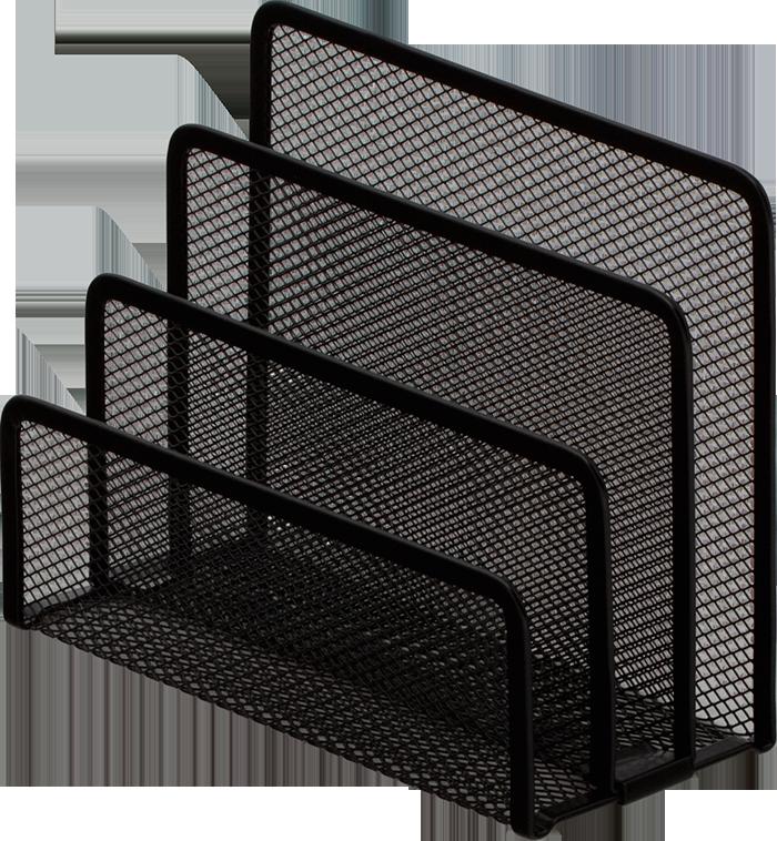Підставка для листів BUROMAX, металева,чорний