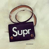 Модная поясная сумочка