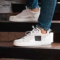 Мужские кроссовки South Extreme white. Натуральная замша, фото 1