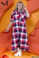 Женское длинное платье размеры:52-62, фото 3