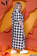 Женское длинное платье размеры:52-62, фото 2