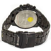 ee28047b ☟Наручные часы CURREN 8023 Black + Gold стальные кварцевый механизм  влагозащищенные нержавеющие для мужчин,