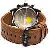 ☎Часы CURREN 8217 White + Brown двойной механизм стальные влагозащищенные круглый циферблат точный ход, фото 2