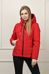 Куртка демисезонна Бланка красная