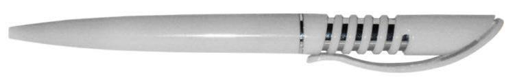 Ручка ber5353S пластиковая, белая, от 100 шт