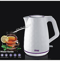 Пластиковый электрочайник DSP KK-1015 кухонная техника электрический чайник для дома