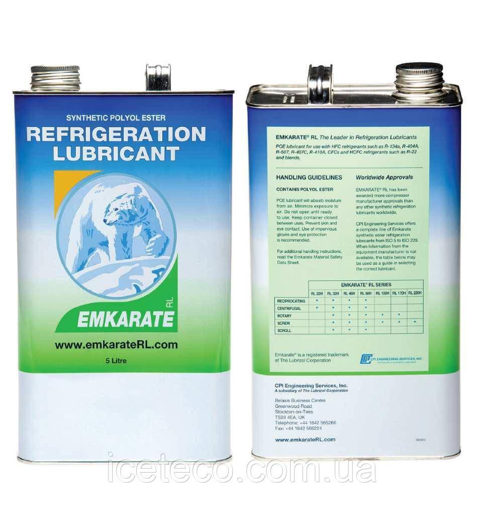 Масло синтетическое холодильное RL170H(5L) Emkarate
