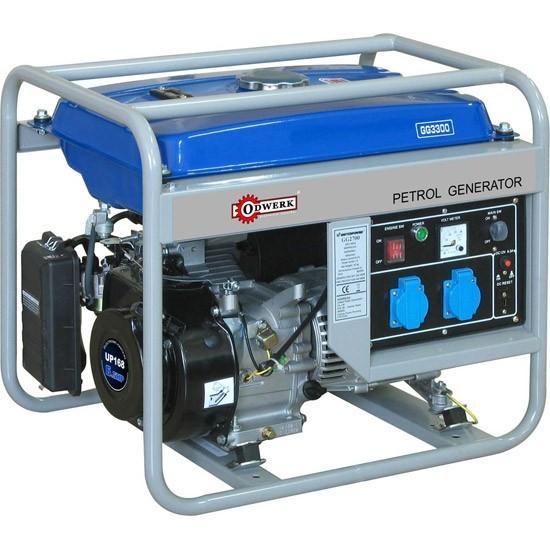 Бензогенератор Odwerk GG3300/GG3300E Home 2,6 (3,0) кВт