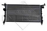 Радиатор охлаждения двигателя NRF 50551 на Opel Corsa / Опель Корса, фото 2