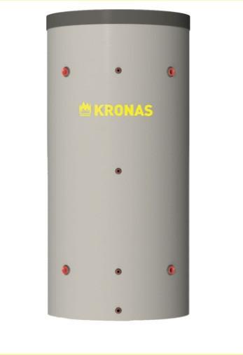 Теплоакумулятор KRONAS (КРОНАС) ТА0.800 з ізоляцією (кожзам+синтепон)