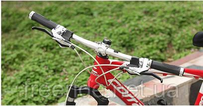 Эргономические велосипедные грипсы с замками (с белым), фото 3