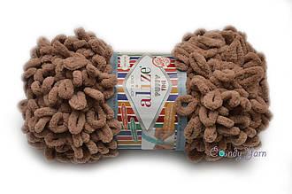 Alize Puffy Fine NEW, Молочно-коричневый №329