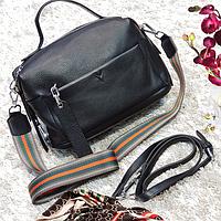 Женская маленькая сумка из натуральной кожи, фото 1