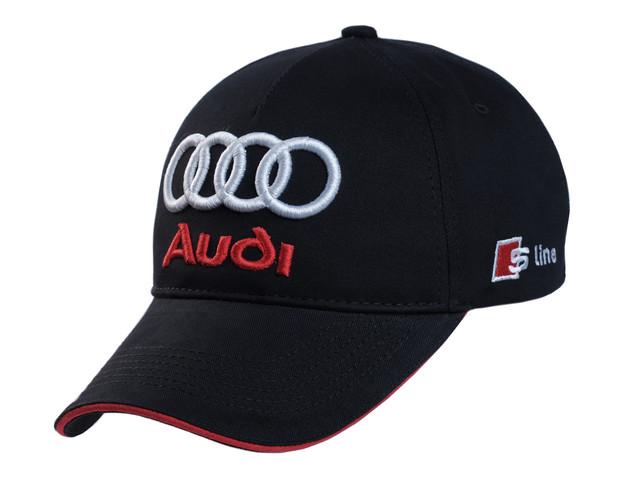 Бейсболка Audi вышивка