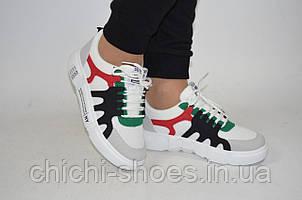Кроссовки подростковые FHU 07-31 экокожа на шнурках