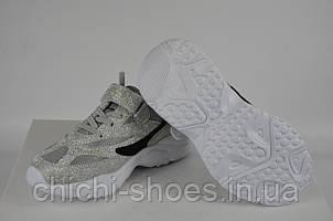 Кроссовки детские Jong Golf 5546-59 серебро текстиль