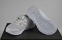 Кроссовки детские шнурок+липучка текстиль белые  Djong-golf 2428-7