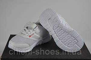Кроссовки детские Jong Golf 2428-7 белые текстиль
