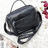 Женская маленькая сумка черная, фото 1