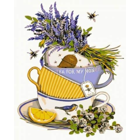 Картина по номерам Лимонный чай КНО5502 Идейка