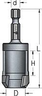 Пробочник с шестигранным хвостовиком D10,0 Z1, фото 1
