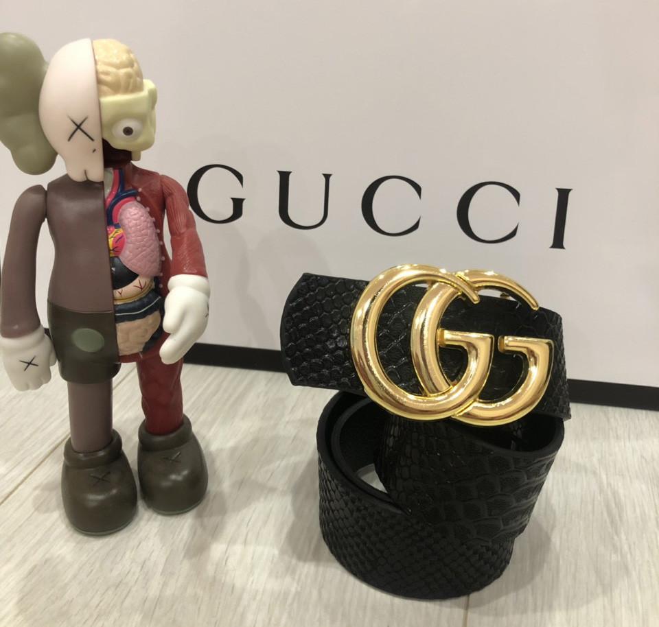 Ремень Gucci D6417 черный