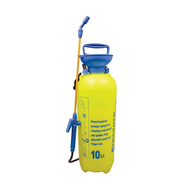✅ Ручной опрыскиватель, для сада и огорода, Pressure Sprayer, 10 литров, цвет - желтый, Садовые опрыскиватели, садові обприскувачі