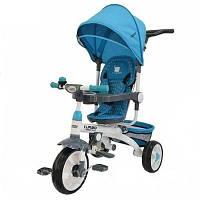 Детский трехколесный Велосипед M 2722-1 голубой