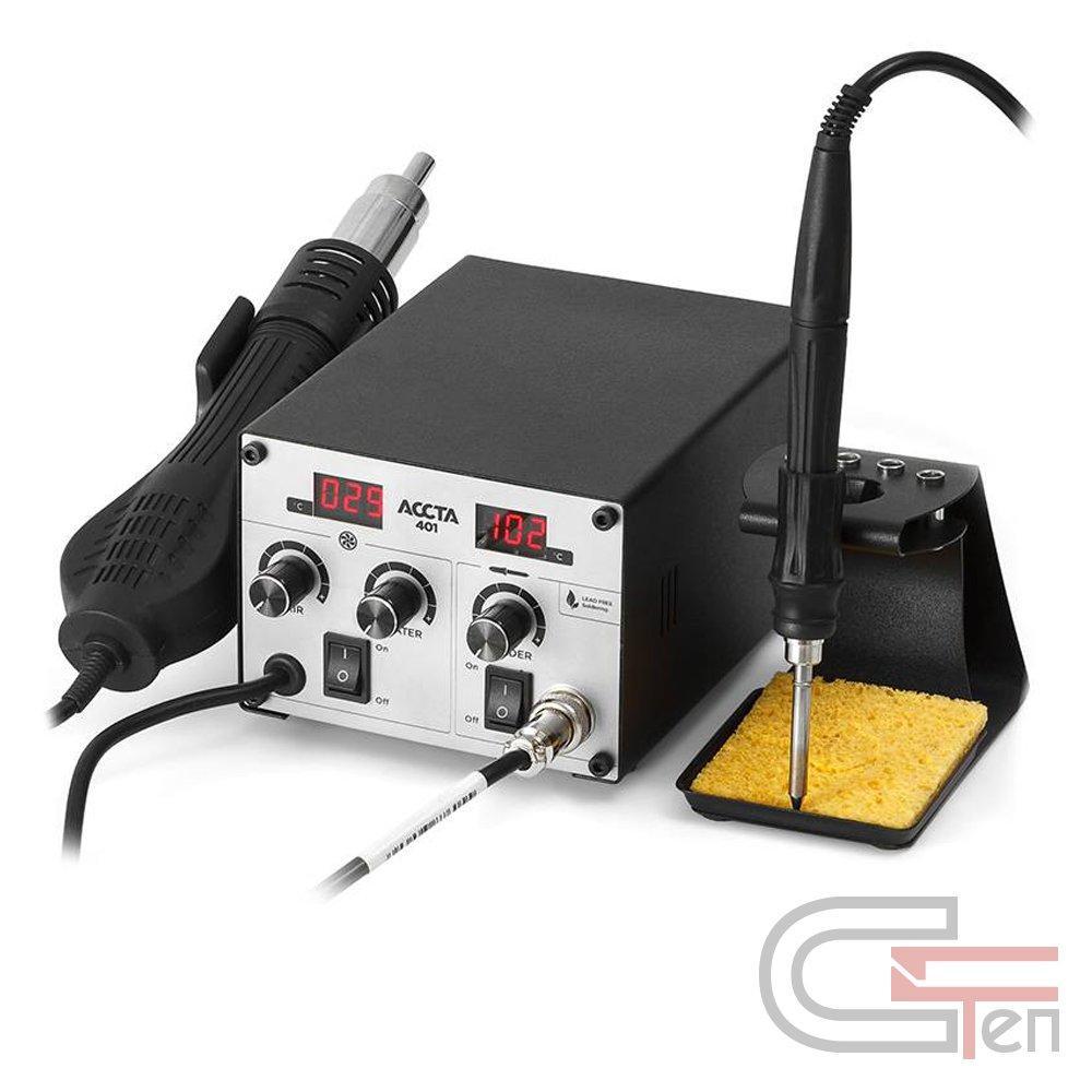 Термовоздушная паяльная станция Accta 401 Basic Kit (без жал)