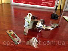 Ручка раздельная эконом с механизмом для межкомнатной двери, Николаев