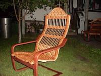 "Плетеное кресло-качалка ""Лягушка"""