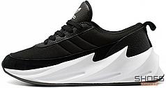 Мужские кроссовки Adidas Shark Black/White