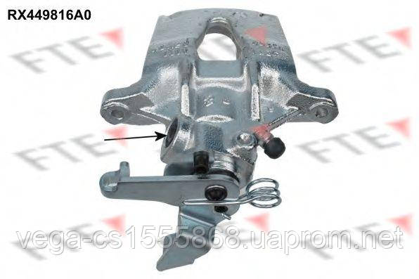 Тормозной суппорт FTE RX449816A0 на Opel Movano / Опель Мовано