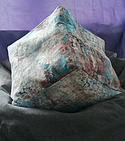 Пуф-Куб (Нубук, цвет Меланж)