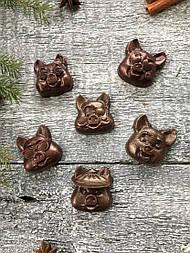 Шоколадна фігурка медальйон «Поросятко»