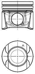 Поршень Kolbenschmidt 97504600 на Opel Movano / Опель Мовано
